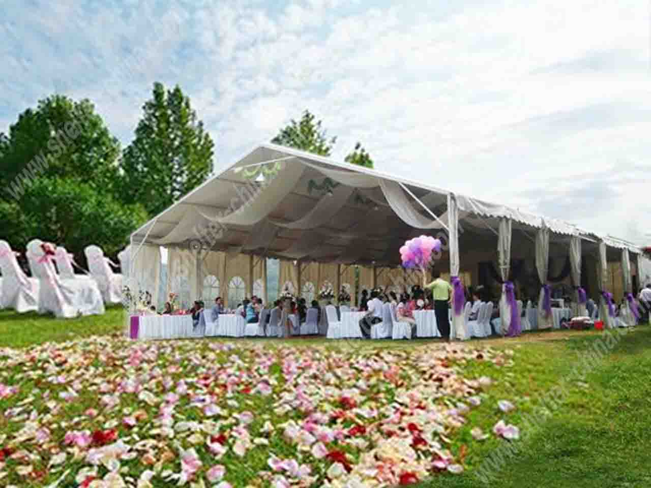 Luxury White Canopy Tents