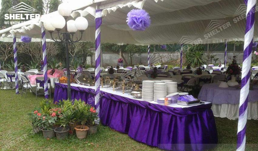 10x27m Tents For Private Wedding Party In Laos Sales In Asia