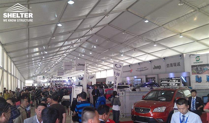 auto-exhibition-tents-car-show-exposition-tent-Motorcycle- & 30x180m Auto Exhibition Tent for 2015 Chinese Western RV Expo| SALE