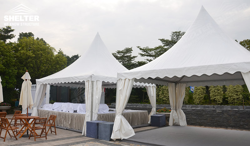 gazebo event canopy- buffect tents- outdoor catering marquee - Shelter event gazebo for sale 3