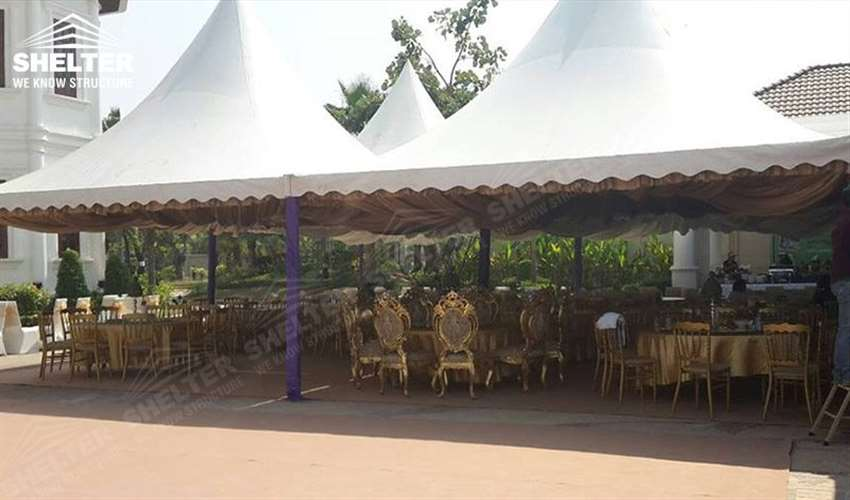 private party tent - small marquee for outdoor party - tent for outdoor concert - catering buffect tents - Shelter marquees for sale22_Jc