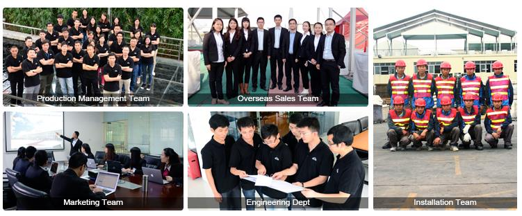 sales team - manufactuing team - engineering crew of Shelter Tent Manufacturing CO.,LTD