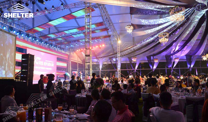 tent wedding - marriage marquees - outdoor wedding tents - party tent - Shelter exhibition marquee for sale (15)