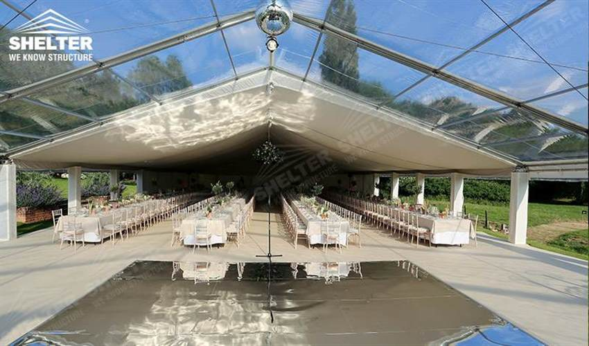 30 x 20 frame tent - wedding marquees - outdoor wedding tents - party tent - Shelter exhibition marquee for sale (19)2_Jc