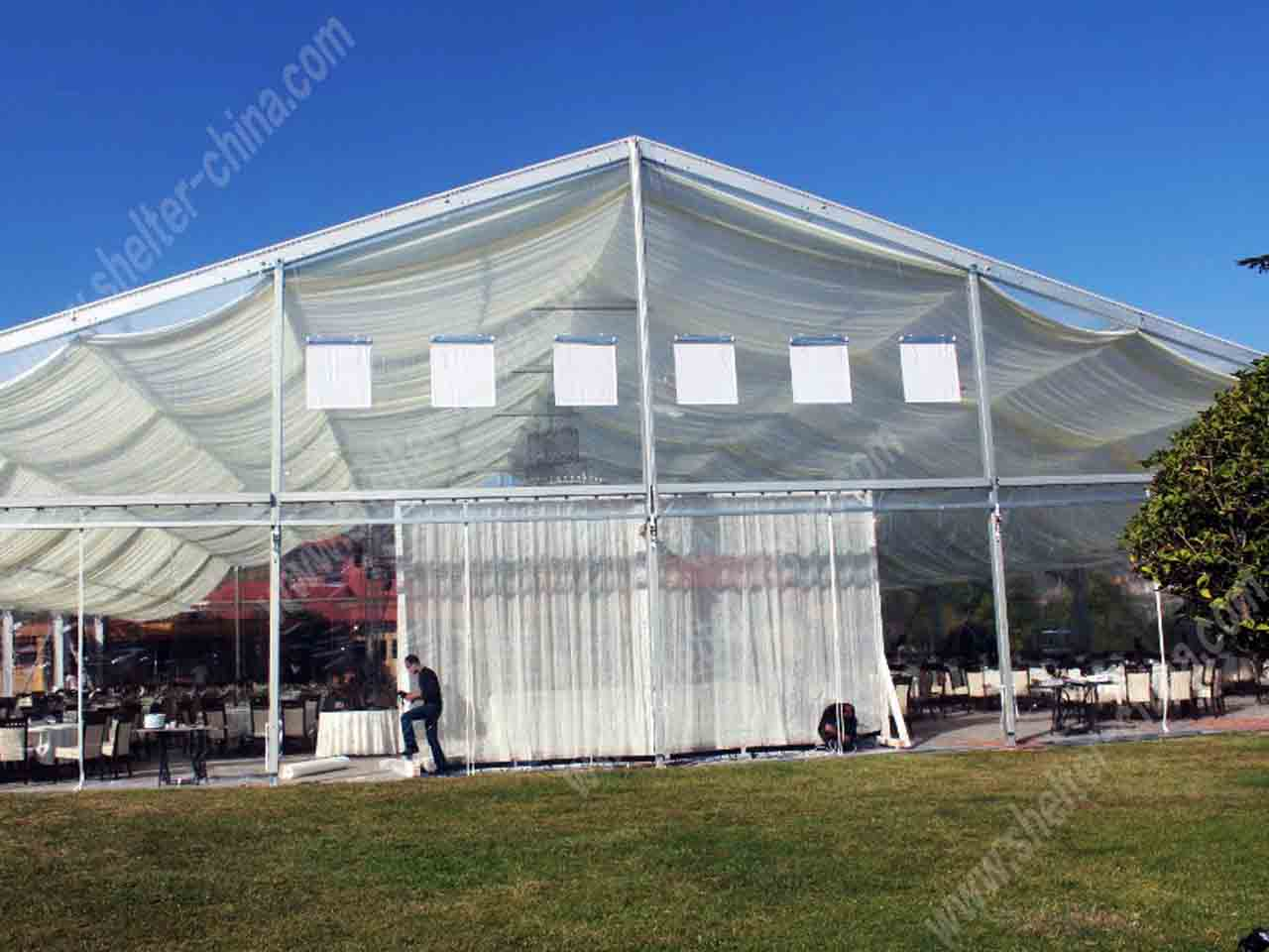 Outdoor Clear Top Party Wedding Tents Rentals | Cheap ...
