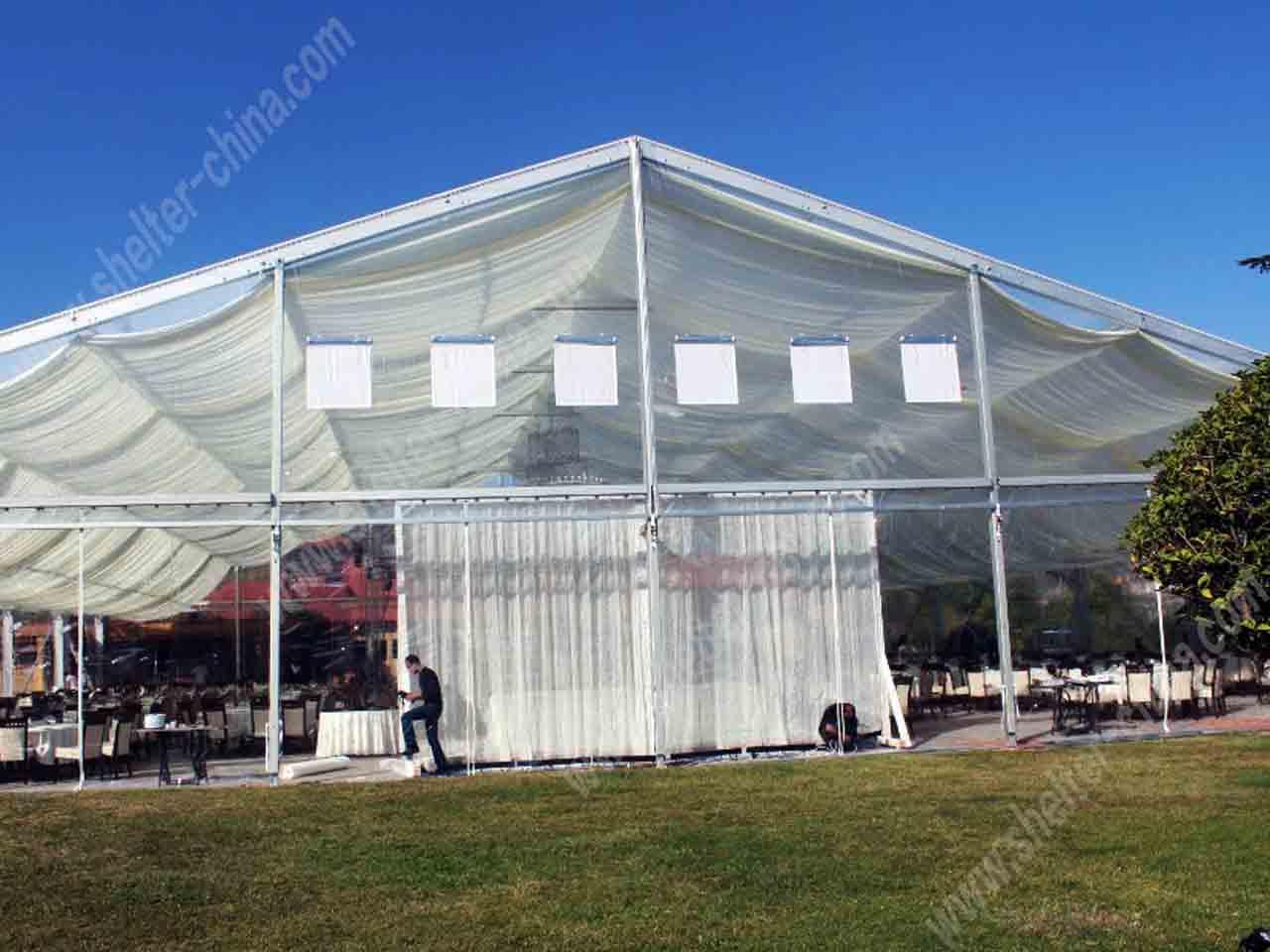 Outdoor Clear Top Party Wedding Tents Rentals