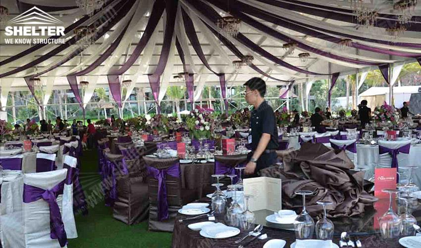 Wedding Marquee - tent for lawn wedding - tent for grass wedding - tent for seaside wedding- Shelter marquee for sale22