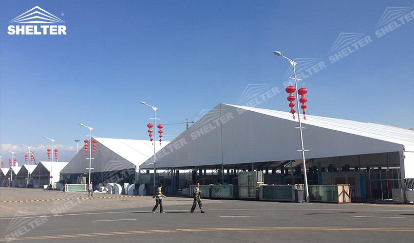 expo tent - china-eurasia expo - exposition tent - exhibition marquees - Shelter large event tents for sale (2)