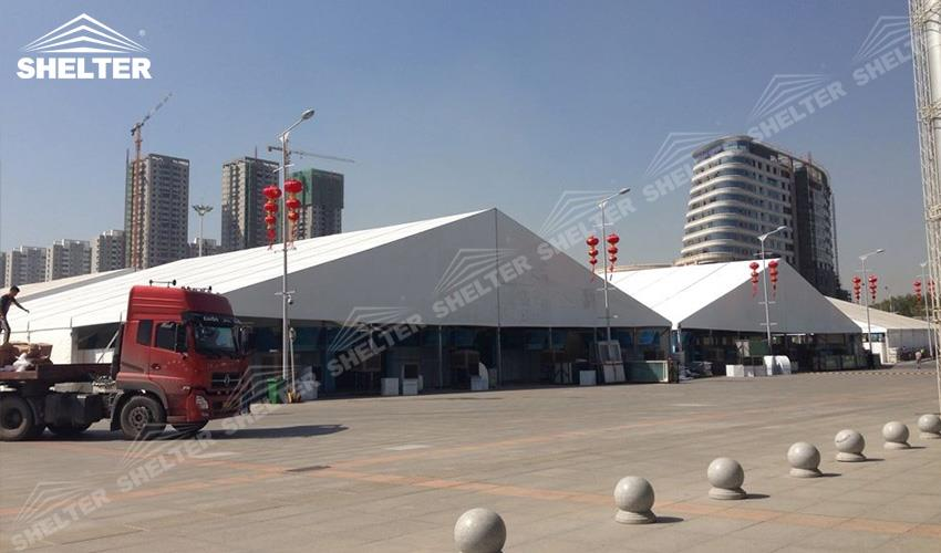 expo tent - china-eurasia expo - exposition tent - exhibition marquees - Shelter large event tents for sale (3)