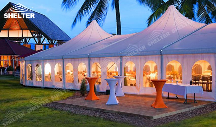 mixed party tents - festival tent - wedding and party marquee - Shelter large party marquees : tents and marquees - memphite.com