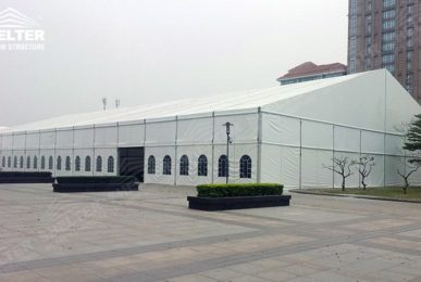 outdoor exhibition - fair tents - trade show marquees - Shelter tent for Appliance&electronics World Expo for sale