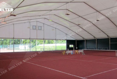 tent structures for tennis - sports canopy - sports tents- sports event tents - large exhibiton marquee - outdoor event marquees - Shelter white tent for sale (14)