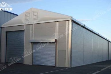Warehouse Structure - SHELTER temporary warehouse building - large storage tent - military tents-construction buildings for sale 46165