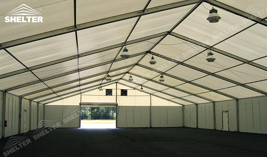 temporary shelter - SHELTER temporary warehouse building - large storage tent - military tents-construction & Rapid Deployment Temporary Shelter For Emergency Response | SALE