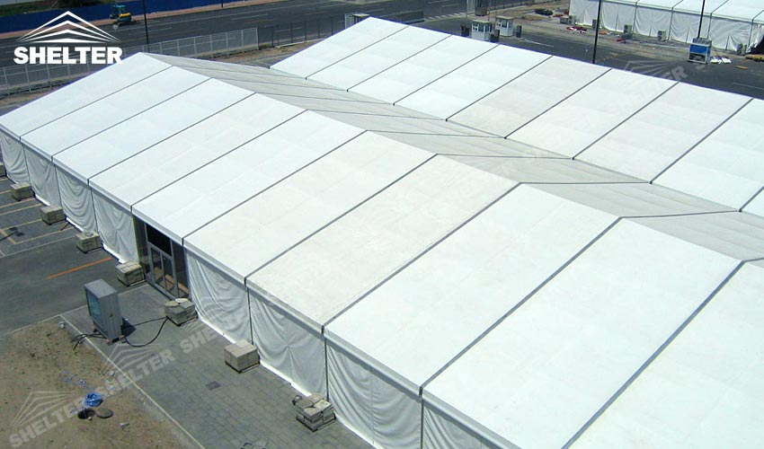 Shelter Tent Mining : Pvc coated tent canopies for mining project sales in