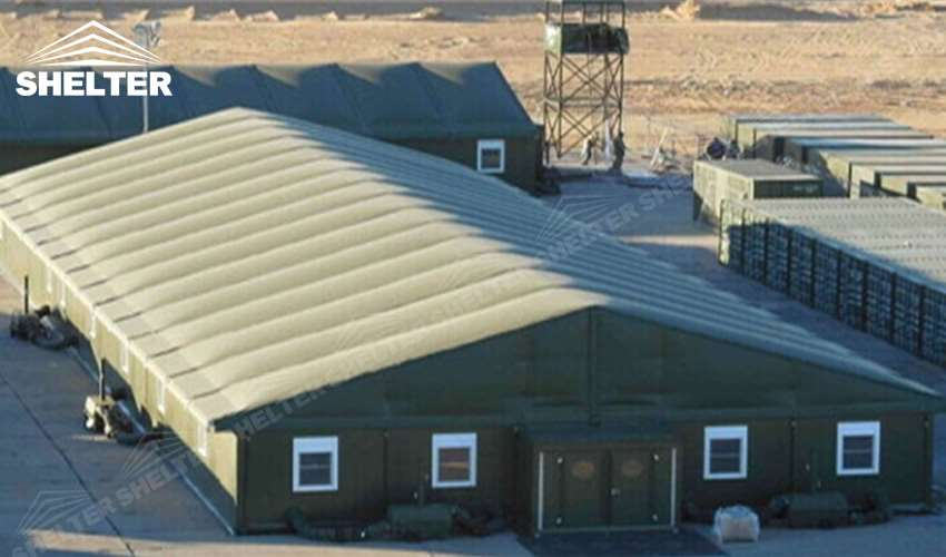 Sun Blocking Army Tents To Protect Military Facilities