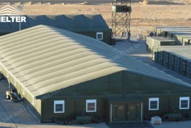 army tents - SHELTER temporary warehouse building - large storage tent - military tents-construction buildings for sale44_Jc