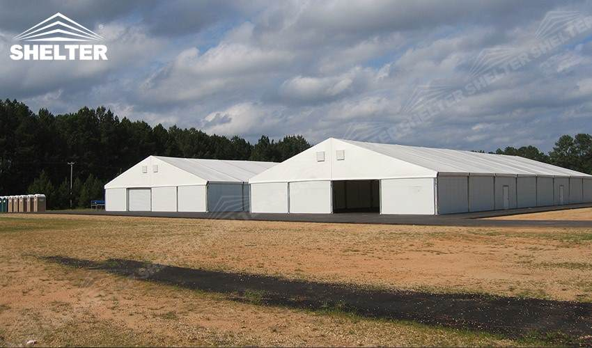 Temporary Construction Shelters : Rapid deployment temporary shelter for emergency response
