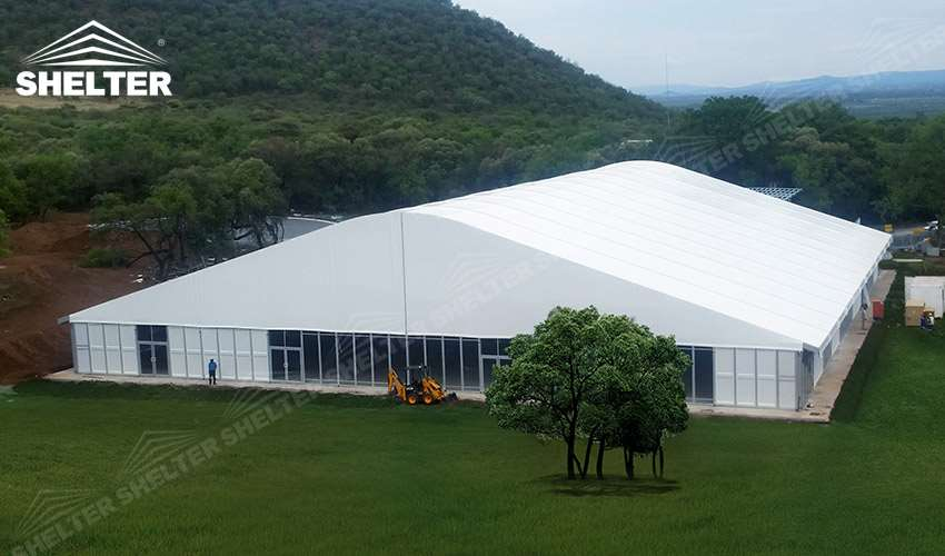 logistics warehouse - SHELTER temporary warehouse building - large storage tent - military tents-construction & Clear Span Logistics Warehouse Structure for Distribute Center ...
