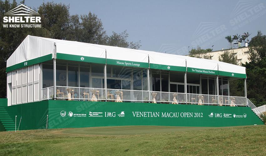custom marquee - classic a roof marquee - event tents - party marquees - tent for & Custom Marquee with Banner of Venetian Macau Golf Open | Sale in Klang