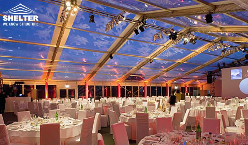 Transparent Tent Classic Marquee For Romantic Destination