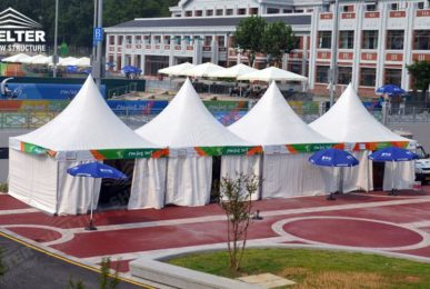 canopy tents - gazebo tent - pagoda tents - small marquee - wedding reception marquees - Shelter aluminum structures for sale (1)
