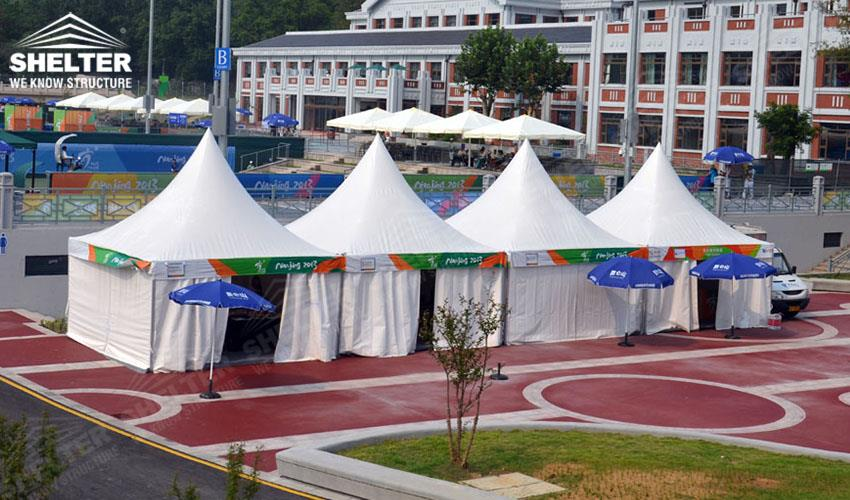 canopy tents - gazebo tent - pagoda tents - small marquee - wedding reception marquees - & Gazebo Canopy Tents for Asian Youth Games | Solemnization Tent