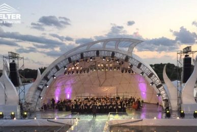 concert dome - geodesic dome tent - concert dome canopy - product launch maruqee - promotion tents - Shelter aluminum exhibition marquees for sale (7)