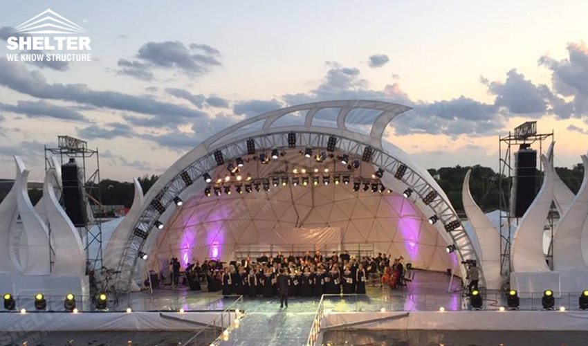 concert dome - geodesic dome tent - concert dome canopy - product launch maruqee - promotion & Concert Dome Tent - Outdoor Dome Theater | Sale in Malaysia Singapoore