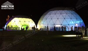 geodesic dome - wedding dome - geodesic dome tent - sports dome - igloo tents - Shelter aluminum marquee for sale (17)2