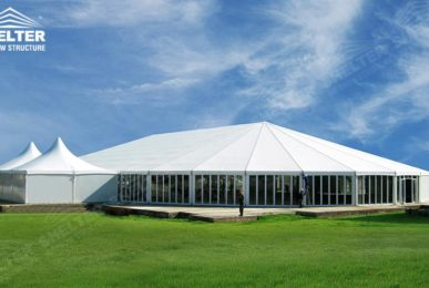 white tent - mixed party tents - large wedding marquees - gazebo tent - classic a roof marquee - Shleter aluminum pawhite tent - mixed party tents - large wedding marquees - gazebo tent - classic a roof marquee - Shleter aluminum party structures for sale (10)