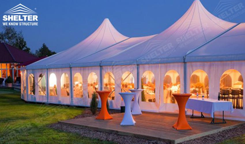 Large Party Tent A Durabel Aluminum Structure For
