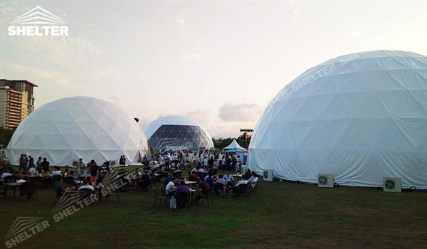 party dome - dome tents - wedding dome - geodesic dome tent - sports dome - igloo tents - Shelter aluminum marquee for sale (3)