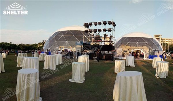 party dome - dome tents - wedding dome - geodesic dome tent - sports dome - igloo tents - Shelter aluminum marquee for sale (5)