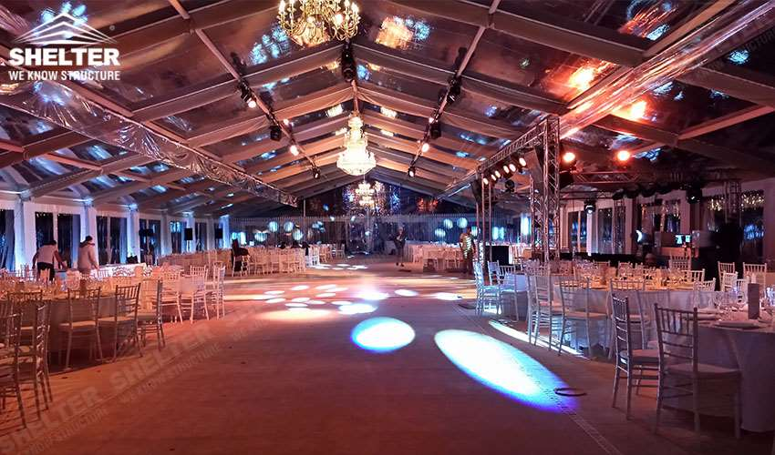 grand wedding marquee - party tents - company gaterhing tents - brand promotion event marquee - marquees for annual party- anniversary-birthday- product launch - Shelter aluminum structures for sale (14)