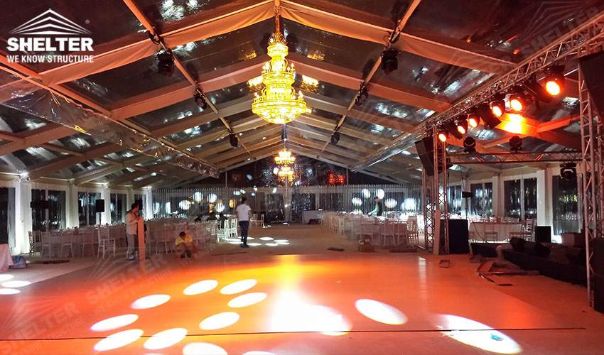 grand wedding marquee - party tents - company gaterhing tents - brand promotion event marquee - marquees for annual party- anniversary-birthday- product launch - Shelter aluminum structures for sale (3)