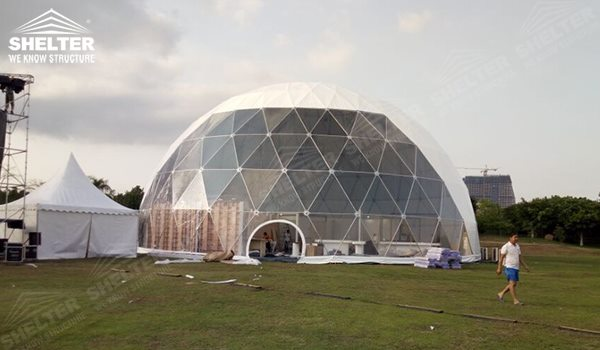 geodesic tent - wedding dome - geodesic dome tent - sports dome - igloo tents - Shelter aluminum mgeodesic tent - wedding dome - geodesic dome tent - sports dome - igloo tents - Shelter aluminum marquee for sale (9)