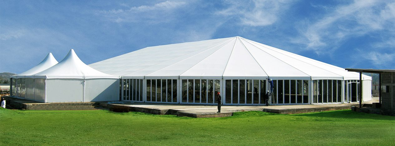 Mixed Party Tent for Ceremony