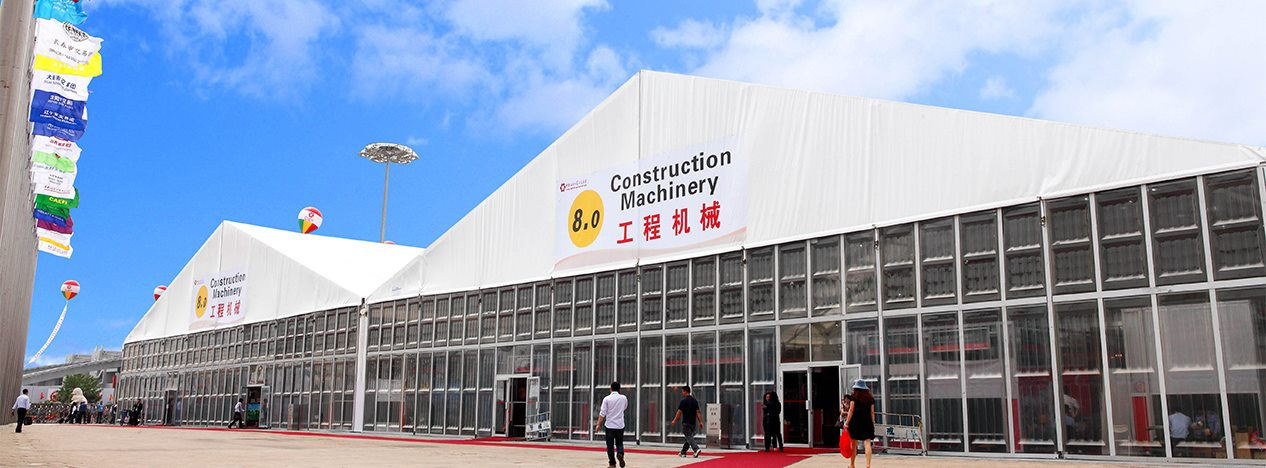 Large Marquee For Trade Show