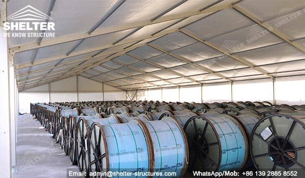 warehouse hall - temporary semi permanent storage building solutions - roofing strucutres - prefab tent warehouse & 20x50m Temporaray Warehouse Hall | SHELTER - Chinese Tent Exporter