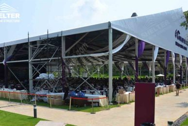 Wedding Marquee - tent for lawn wedding - tent for grass wedding - tent for seaside wedding- Shelter marquee for sale11