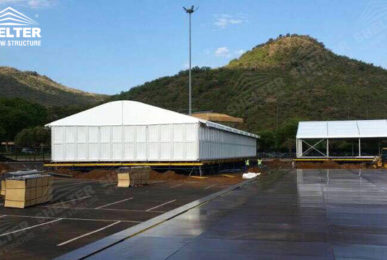 temporary banquet hall - catering tents - classic a roof tent - annual conference tent - Shelter aluminum structures for sale2
