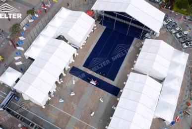 trade show tents - exhibition tent - event marquee - car show tents - Shelter party marquees for sale (2)