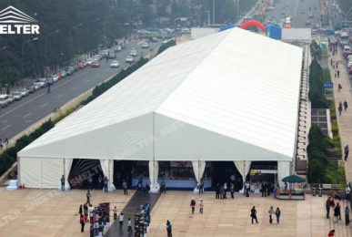 trade show tent - exhibition tent - event marquee - car show tents - Shelter party marquees for sale (5)