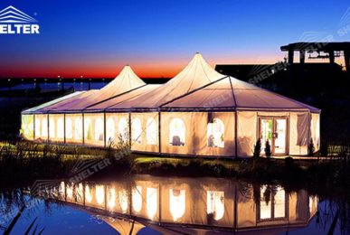 mixed party tents - festival tent - wedding and party marquee - Shelter large party marquees for sale (2)