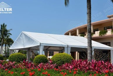 small party tent - hospitality marquee - outdoor event shade - seaside canopy - beach resting tents - Shelter tent for sale12424