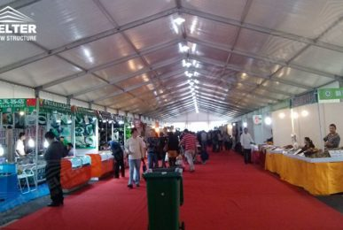 used party tent - white marquee - wedding party tents - summer party marquees - Shelter aluminum structures for sale2