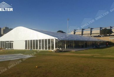 temporary workshop - SHELTER temporary warehouse building - large storage tent - military tents-construction buildings for sale 487_Jc