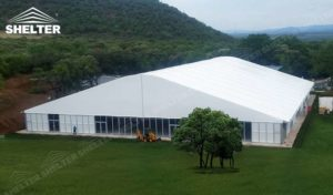 logistics warehouse - SHELTER temporary warehouse building - large storage tent - military tents-construction buildings for sale79_Jc