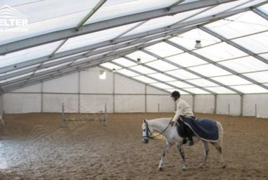 sports tent shelter - horse riding structures - aluminum horse tent - swimming pool cover - football court canopy - sports canopy (600sf)_Jc